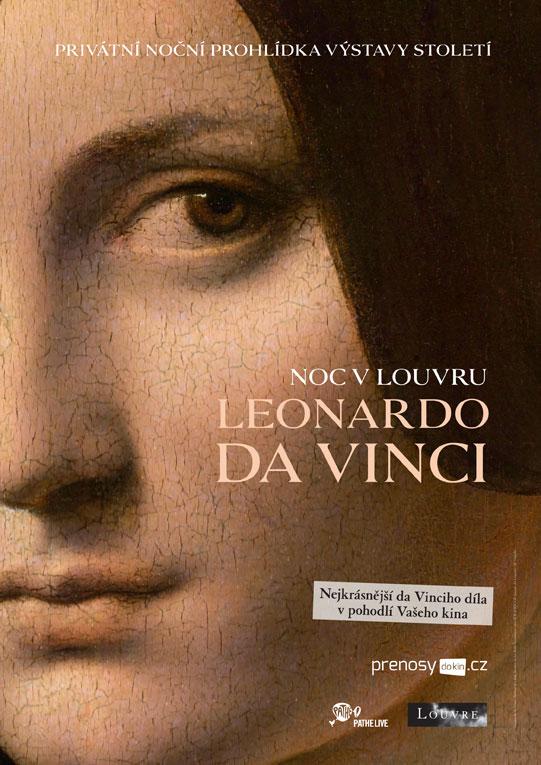 Noc v Louvru: Leonardo da Vinci